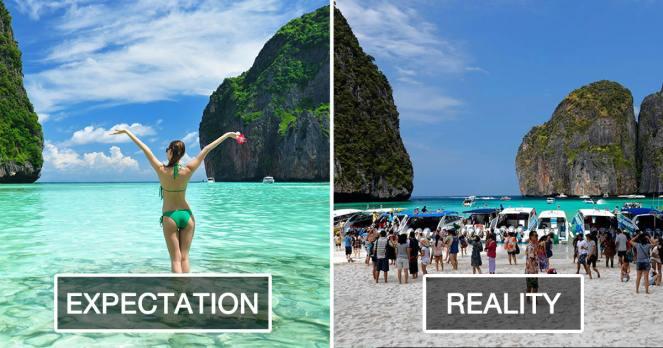 Expectation Vs Reality Pinoy Lone Traveler - 20 photos that sum up your travel expectations vs reality